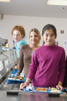 School food service workers deal directly with children.