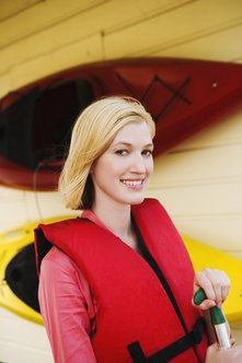 A life jacket is a must-have for people who can't swim.