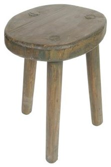 Build a replica milking stool for contemporary uses.