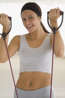 Exercise bands are convenient and affordable.