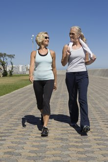 Regular chair exercise can improve balance for walking.