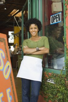 Small-scale business owners are defined by how many people they employ and how much money they make.