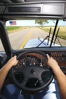 Truck drivers can be on the road alone for weeks at a time.