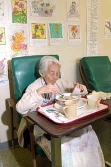 Many seniors lack access to healthy meals.
