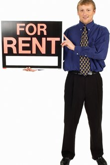 Leasing agents rent or lease properties.