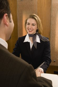 Hospitality industry philosophy is dictated by varying degrees of guest service.