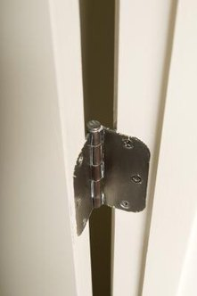 How to cut out notches for door hinges home guides sf gate for How to make door hinge template