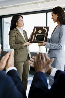 Recognizing employee tenure is a way to improve retention rates.