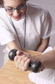 Occupational therapists can help patients recover from injuries.