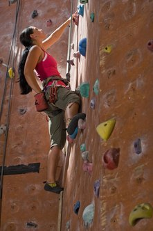 Opening a rock gym can provide a supervised activity environment for climbing enthusiasts.