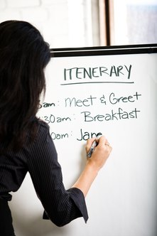 A short agenda can translate to a swift and effective meeting.