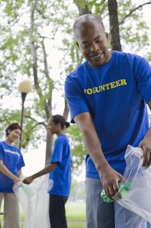Volunteering is a marketable activity.