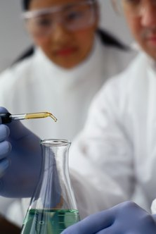 Forensic chemists often work in laboratories, analyzing physical evidence.