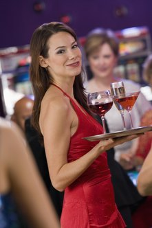 Finding a qualified cocktail waitress can take more than one interview.