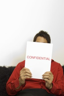 Employees must avoid sharing confidential employment information.