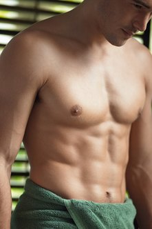 Work the inner-core muscles to show your six pack.