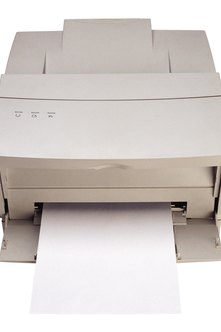 To find the exact name of a printer, click