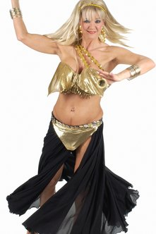 Belly dancing classes offer an all-over body workout.