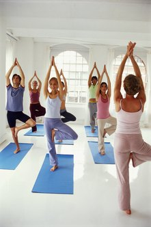 Although muscles only temporarily elongate, yoga also realigns muscles and increases overall flexibility.