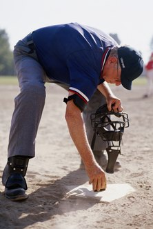 A Little League umpire must fill out an application, complete a background check and meet certain training requirements.