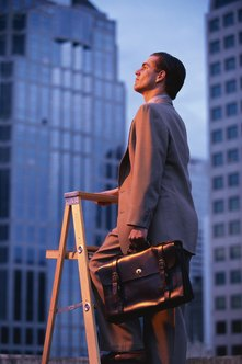 Some people aspire to eventually reach the top of the corporate ladder.