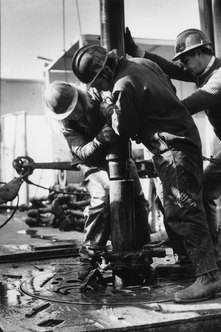 Working on an offshore rig's drill floor uses the same skills you learn ashore.