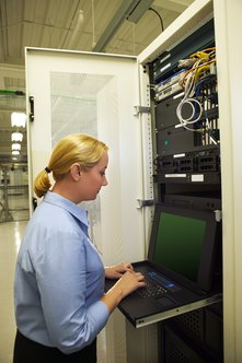 Windows servers help network administrators manage IPs for large networks.