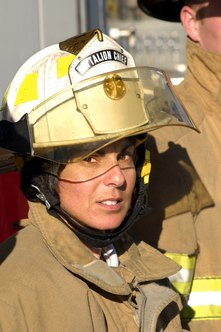 An assistant fire chief has prior experience as a battalion chief.