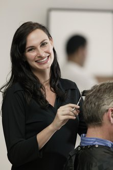 Cosmetology instructors train cosmetologists in hairstyling and other techniques.