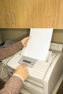 Verify that fax machines work before sending them important documents.