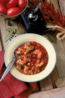 You can thank the mucilage in okra for Louisiana-style gumbo's thickness.