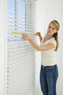 Measure to the outside edge of the window frame to ensure that your curtain fits properly.