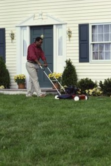 Mowing wet grass isn't ideal, but possible following some guidelines.