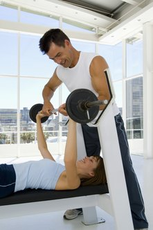Use a spotter when you're training to failure.