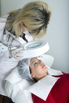 Estheticians are skin-care specialists, not health-care workers.