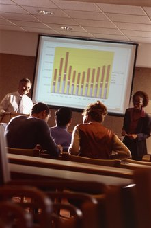 Presentations enable you to communicate with small and large audiences.