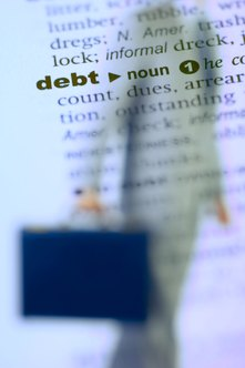 Taking control of your distressed debt can save your business.