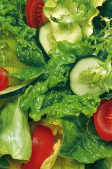Choose salads instead of starchy vegetables.
