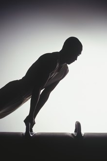 Gymnasts need great strength to perform the planche.