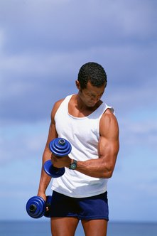 Strength training burns calories and preserves muscles.