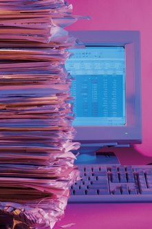 Integrating your databases may lead to less paperwork.