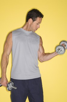 Combine weight training with running for excellent fitness.