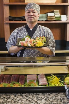 Sushi chefs can earn upwards of $70,000 a year.