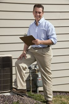 EPA certification is required to work on residential air conditioning units.