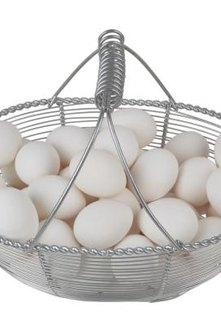 Heating an egg to a temperature of 140 degrees Fahrenheit kills dangerous bacteria without cooking the egg.