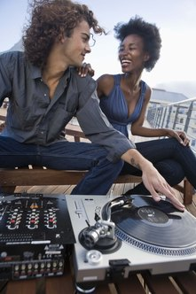 DJing is hard work, but can be a rewarding and fun business.