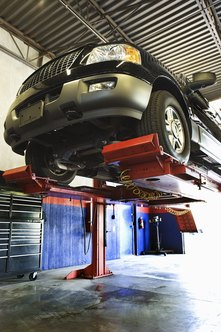 Maintenance costs on your vehicle are tax-deductible if you are a self-employed contractor.