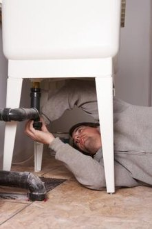 Repair leaky plumbing before you paint to prevent future mold problems.