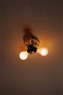 Opening your flush-mount fixture allows you to access the light bulbs.