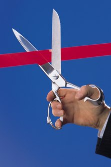 A ribbon-cutting ceremony can be cut short if you do not have certain permits.